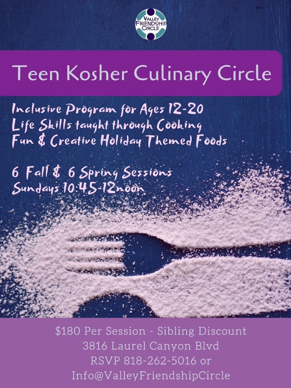 VFC Culinary Circle | HaMercaz | The Jewish Federation of Greater Los Angeles