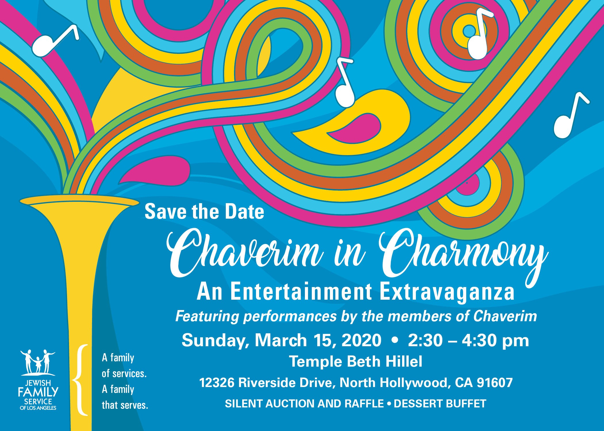 SAVE THE DATE | HaMercaz | The Jewish Federation of Greater Los Angeles