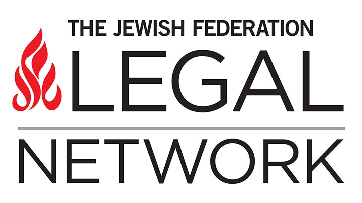 The Jewish Federation Legal Network Logo